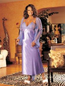 Gorgeous Silk Chiffon Gown