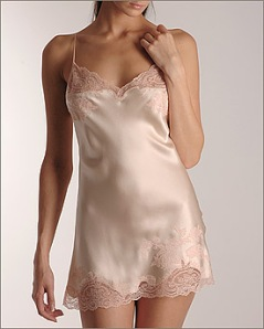 Charm Chemise at Nancy Meyer