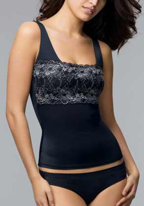 Shapewear Chic Lace Bodice Camisole - $21.00