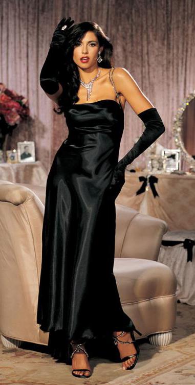 Rhinestone Strap Gown