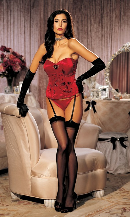 Red Couture Corset