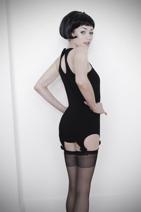 Kristel Suspender Top From Kriss Soonik Lingerie